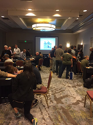 Photos of Stand Alone Meeting 2016