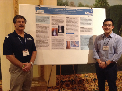 Andrew Yun, DPM,  Presents at  Joint Commission on Sports Medicine and Science Meeting in Memphis