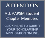 Attention Student Chapter Members! Click here to submit your scholarship application online.