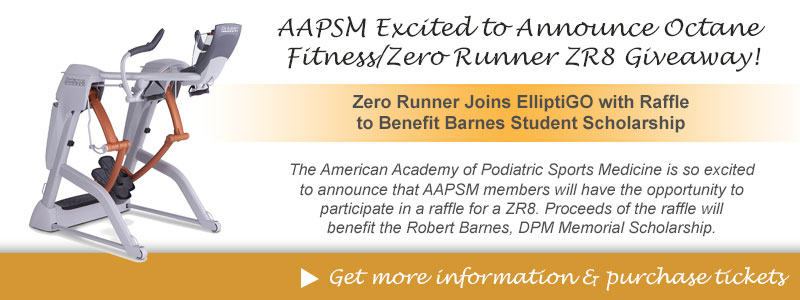 AAPSM Excited to Announce Octane Fitness/Zero Runner ZR8 Giveaway!